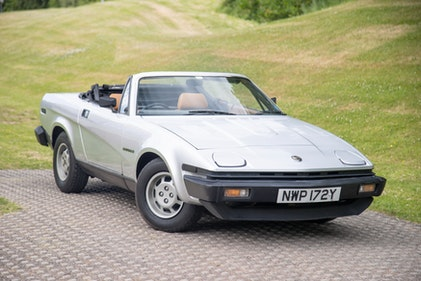 Picture of 1982 Triumph TR7 Convertible For Sale by Auction