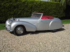 1949 Triumph 2000 Roadster in excellent condition throughout For Sale (picture 1 of 35)