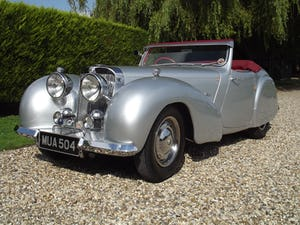 1949 Triumph 2000 Roadster in excellent condition throughout For Sale (picture 24 of 35)
