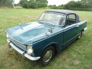 1971 Triumph Herald 13/60 Convertible For Sale (picture 2 of 7)