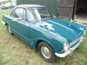 1971 Triumph Herald 13/60 Convertible For Sale (picture 3 of 7)