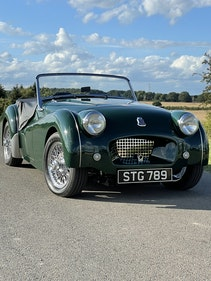 """Picture of 1955 Triumph TR2 """"fast road specification"""" For Sale"""