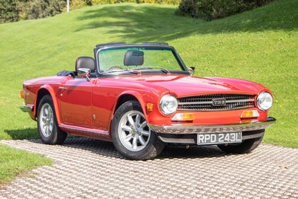 Picture of 1972 Triumph TR6 For Sale by Auction