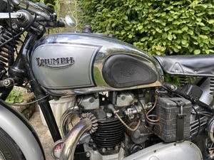 1937 Triumph T100 Evocation For Sale by Auction (picture 47 of 50)