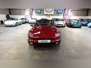 Deposit Taken - TVR V8S Project 1991 Red with Magnolia Trim For Sale (picture 1 of 12)