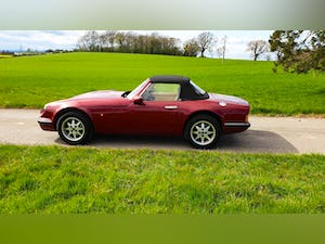 Deposit Taken - TVR V8S Project 1991 Red with Magnolia Trim For Sale (picture 2 of 12)