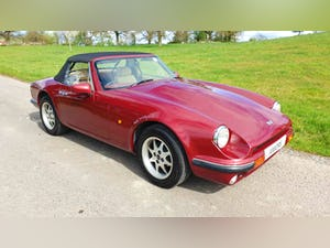 Deposit Taken - TVR V8S Project 1991 Red with Magnolia Trim For Sale (picture 5 of 12)