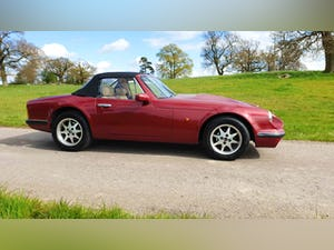 Deposit Taken - TVR V8S Project 1991 Red with Magnolia Trim For Sale (picture 6 of 12)