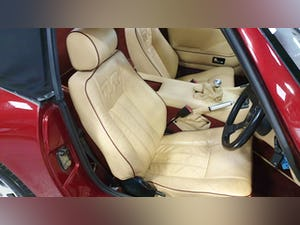 Deposit Taken - TVR V8S Project 1991 Red with Magnolia Trim For Sale (picture 9 of 12)