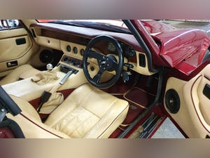 Deposit Taken - TVR V8S Project 1991 Red with Magnolia Trim For Sale (picture 10 of 12)