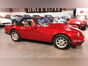 Deposit Taken - TVR V8S Project 1991 Red with Magnolia Trim For Sale (picture 12 of 12)