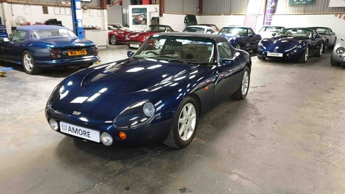 Picture of TVR Griffith 500 1996 Mica Blue. PAS. Outriggers replaced. For Sale