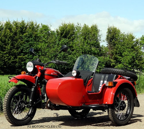 2015 Ural 750 EFI Tourist low mileage, 1 owner, perfect SOLD (picture 6 of 6)