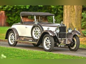 1928 Vauxhall 20/60 Fastback DHC with Dickey For Sale (picture 2 of 6)