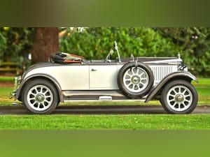 1928 Vauxhall 20/60 Fastback DHC with Dickey For Sale (picture 3 of 6)