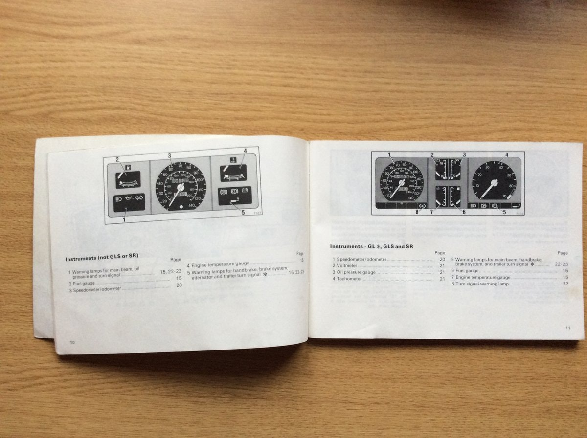 1981 VAUXHALL CAVALIER OWNERS MANUAL  For Sale (picture 2 of 3)