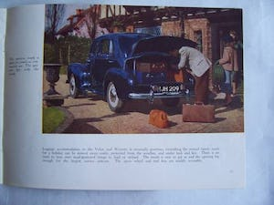 Australian sales brochure VAUXHALL VELOX - WYVERN 1949 For Sale (picture 4 of 6)