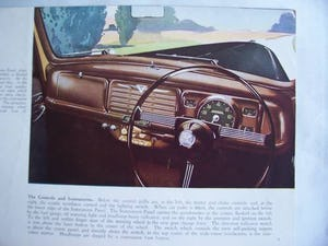 Australian sales brochure VAUXHALL VELOX - WYVERN 1949 For Sale (picture 5 of 6)