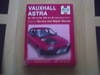 Picture of  Vauxhall Astra Haynes Service/repair manual