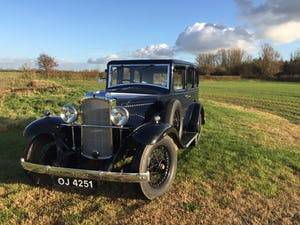 1932 Vauxhall Cadet For Sale (picture 1 of 9)