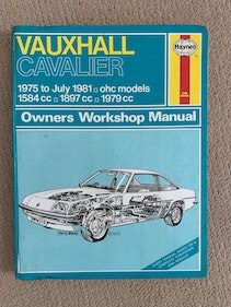 Picture of Classic Cavalier, Rear Wheel Drive - Haynes Repair Manual. For Sale