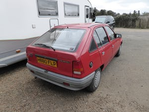 1990 low milage 1.3 Vauxhall Astra Merit For Sale (picture 3 of 6)