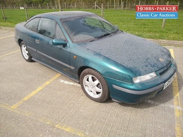 Picture of 1994 Vauxhall Calibra - 127,700 Miles - Sale 28th/29th For Sale by Auction