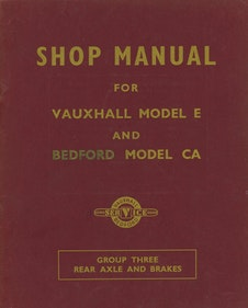 Picture of Vauxhall Shopmanual For Sale