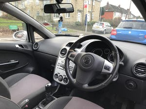 2007 Vauxhall, CORSA, Silver, Hatchback, Manual, 1.2L Petro For Sale (picture 9 of 12)