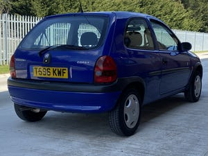 1999 Corsa Club 1.0 12V, 39k, One owner, FSH For Sale (picture 2 of 9)