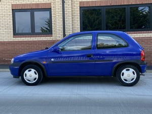 1999 Corsa Club 1.0 12V, 39k, One owner, FSH For Sale (picture 3 of 9)