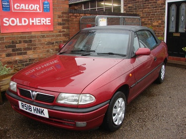 Picture of 1998 Vauxhall Astra SOFT TOP AUTO LEATHER SEATS RARE For Sale