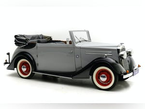 1937 Vauxhall 14/6 Tickford Drophead coupe For Sale by Auction (picture 1 of 12)