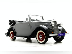 1937 Vauxhall 14/6 Tickford Drophead coupe For Sale by Auction (picture 2 of 12)