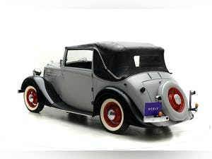 1937 Vauxhall 14/6 Tickford Drophead coupe For Sale by Auction (picture 4 of 12)