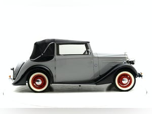 1937 Vauxhall 14/6 Tickford Drophead coupe For Sale by Auction (picture 5 of 12)