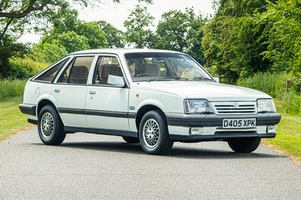 Picture of 1986 Vauxhall Cavalier 2.0 CDI One Owner 26k miles For Sale by Auction