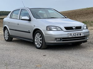 2003 (53) Vauxhall Astra 1.8 16v SXi only 29,000m For Sale (picture 1 of 12)
