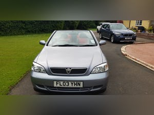 2003 ASTRA LINEA ROSSO CONVERTIBLE For Sale (picture 1 of 12)