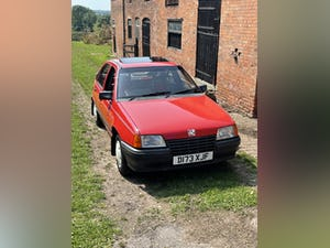 1986 Rare Vauxhall Astra Antibes 1300 1 owner Swap or P/ex For Sale (picture 1 of 9)