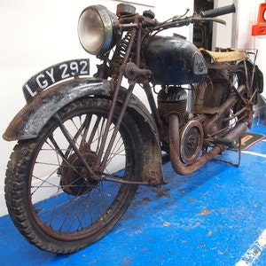Picture of 1938 Velocette GTP250 Rare Magneto Model, With Buff Logbook. SOLD