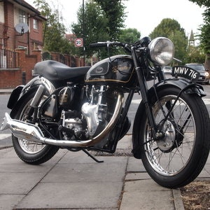 Picture of 1955 Velocette MSS 500 Classic, RESERVED FOR FLOYD. SOLD