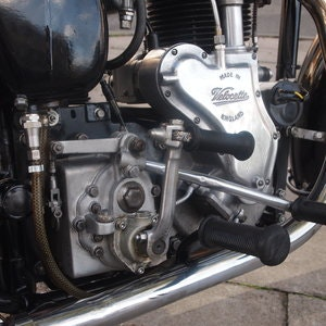 Picture of 1954 Velocette MSS 500 With Early Model Long Stroke Engine. SOLD