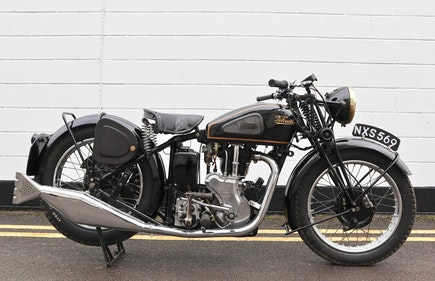 Picture of 1947 Velocette MSS 500cc - Very Original For Sale