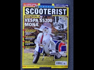 1965 Vespa SS180 Andre Baldet Mona For Sale (picture 5 of 6)