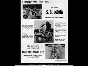 1965 Vespa SS180 Andre Baldet Mona For Sale (picture 6 of 6)