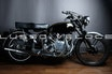 Vincent Rapide twin 1000 with elec start and rebuilt engine