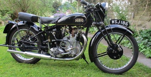 Picture of 1936 Bronze Head series A Motorcycle For Sale