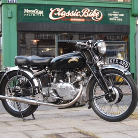 Picture of 1950 Vincent Comet 500 In Beautiful Aged Condition. For Sale