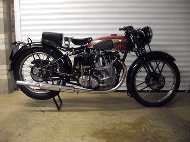 Picture of 1939 Vincent HRD Series A Comet For Sale